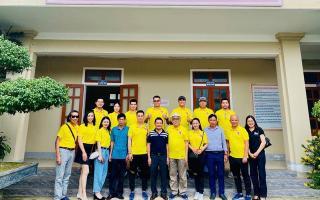 Việt Anh và CLB bóng đá V-Stars kêu gọi, ủng hộ vào Quỹ vắc xin Covid-19