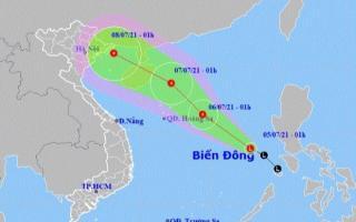Vùng áp thấp trên Biển Đông có thể mạnh lên thành áp thấp nhiệt đới